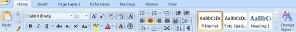 Officeprogramm, Symbolleiste - (Computer, PC, Technik)