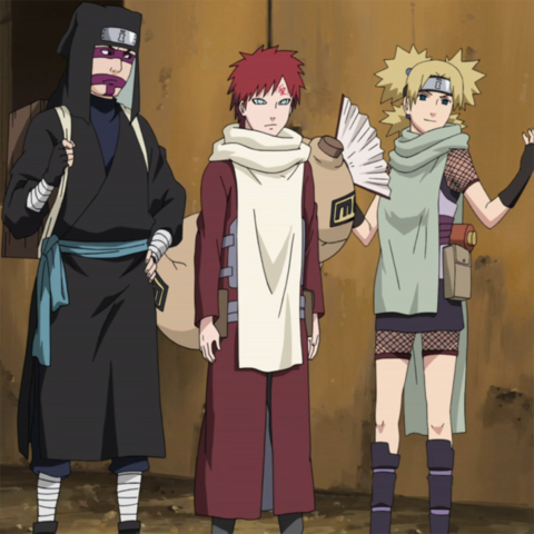 Team Kazekage :D! - (Meinung, Naruto, Kankuro)