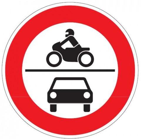 Verboztschild 1 - (Roller, Moped, Motorad)