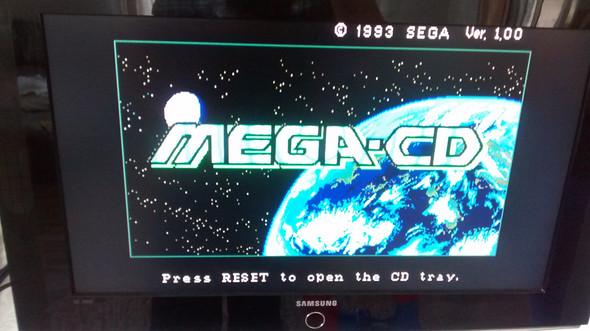 Sega CD Startmenü - (Playstation 3, Bios, Retroarch)