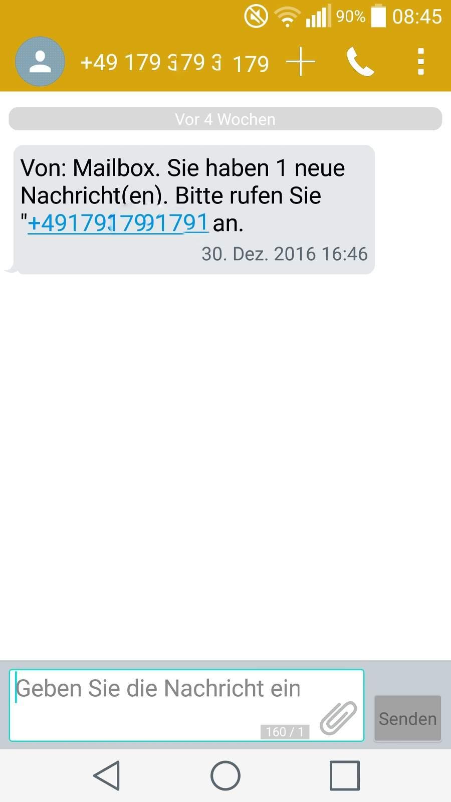 Erstellen handynummer deutsche fake Germany (+49)