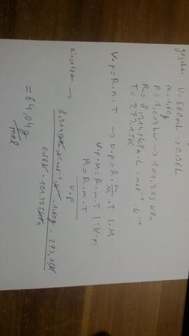 Mein Rechenweg - (Chemie, anorgansiche Chemie)