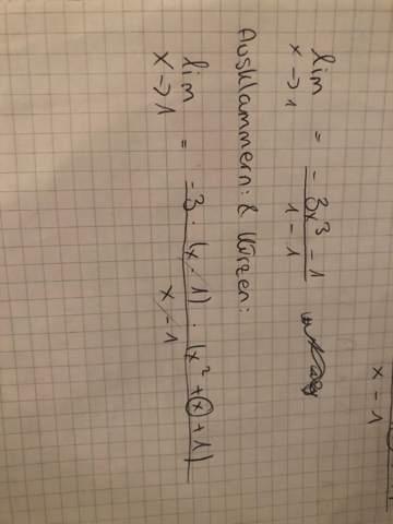 Momentane Änderungsrate mit x^3 bestimmen (x^3 ausklammern)?