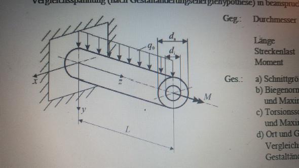 - (Statik, moment, Technische Mechanik)