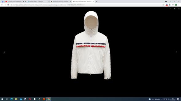 Moncler Jacke oder LV Sneaker?
