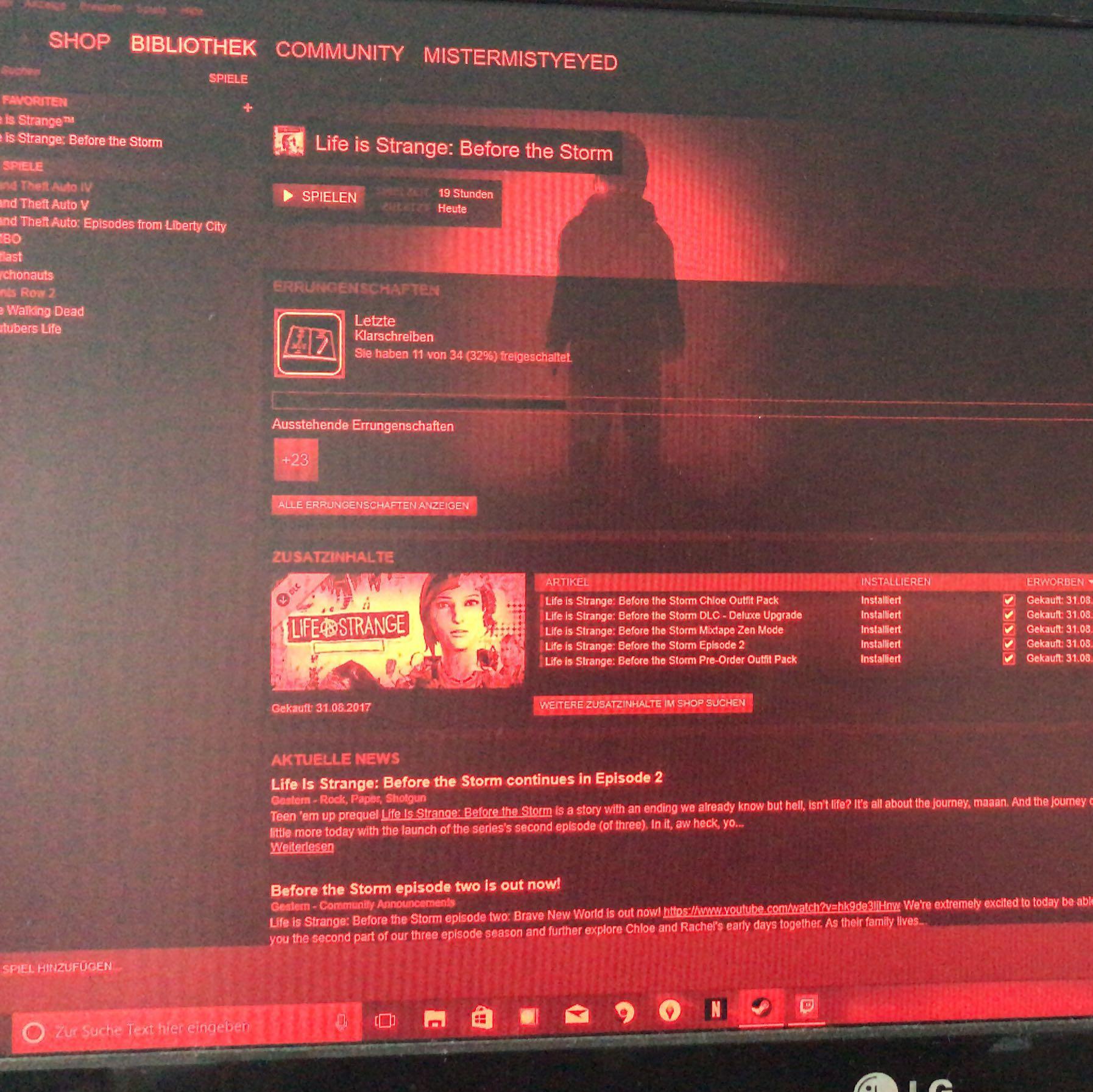 Monitor Ist Plotzlich Rot Lila Computer Pc Technik