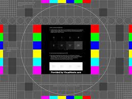 Monitor Kalibrierungsbild (wie unten) finden?