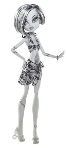 Frankie Stein In schwarz weiß - (Puppen, Monster High)