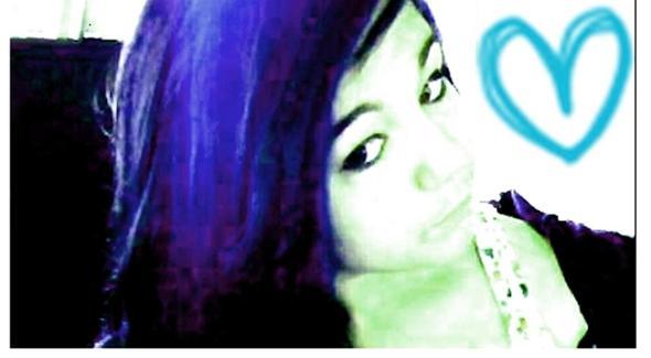 Blaue haare - (Style, Make-Up)