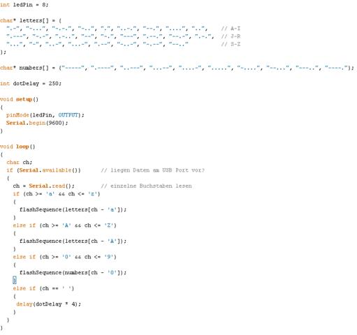 Teil 1 - (programmieren, arduino, Microcontroller)
