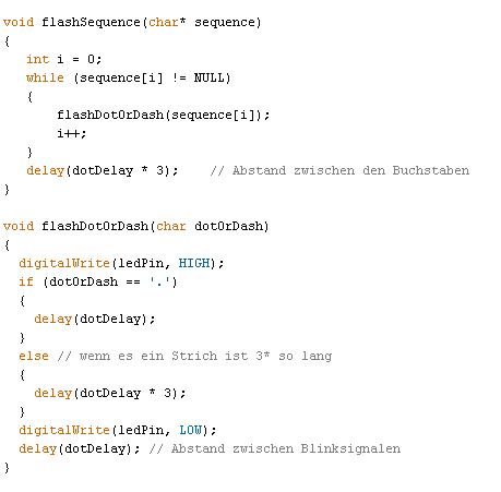Teil 2 - (programmieren, arduino, Microcontroller)