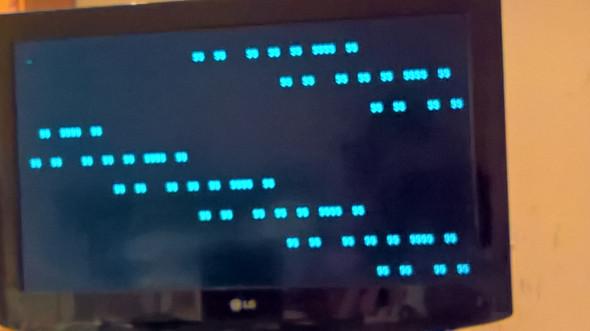 Bild von den zeichen die das Motherbpard beim dtart anzeigt - (PC, Windows)