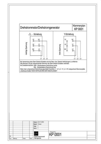 Baukreissäge Starkstrom mit Schalter Anschließen (Motor, Kreissäge ...