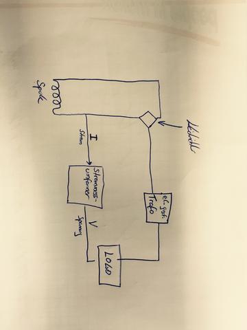 verhunzter Schaltplan - (Elektrik, Elektrotechnik, Logo)