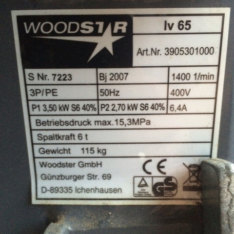 Motor von Holzspalter anschließen, aber wie? (Elektrik, elektromotor)
