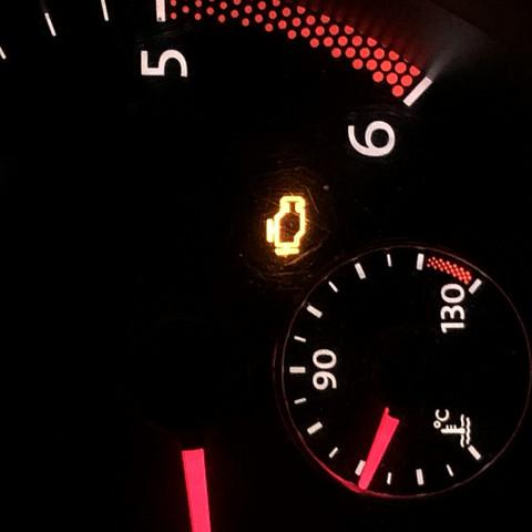 - (Auto, motorkontrollleuchte)