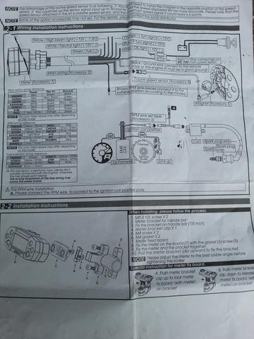 Motorrad Massekabel, Kabel verbinden, usw. (Elektronik, Tacho ...