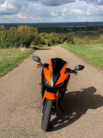 Motorrad Windschild ohne KBA nummer?