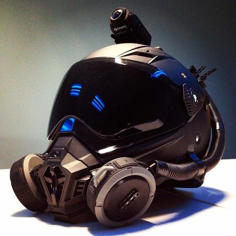 Bild - (Motorrad, Helm, Motorradhelm)