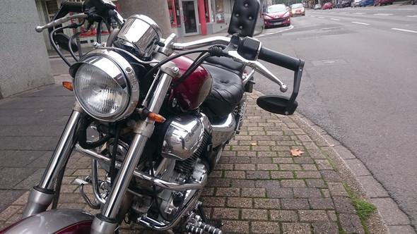 ...und von vorne - (Motorrad, Lenker, chopper)