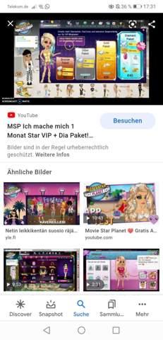 - (Computer, MovieStarPlanet, MSP VIP)