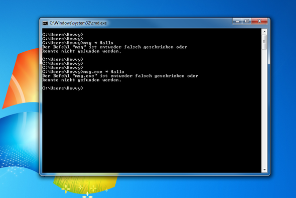 Screenshot - (Messenger, cmd, net-send)