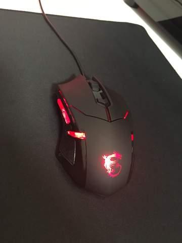 MSI Interceptor DS B1 Maus LED ausschalten?