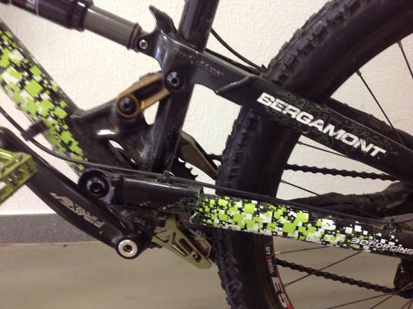 Das ist der Bruch  - (Fahrrad, MTB, Enduro)