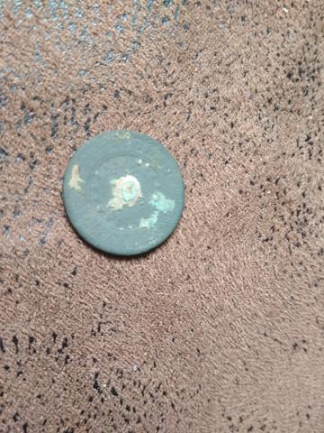 Münze / Knopf aus Metall? Wer kann es identifizieren?