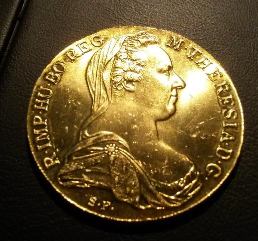 Münze österreich Maria Theresia In Gold Hobby Sammeln Münzen