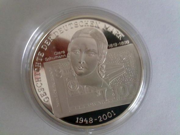 prägung vorderseite - (Münzen, Silber, sammeln)