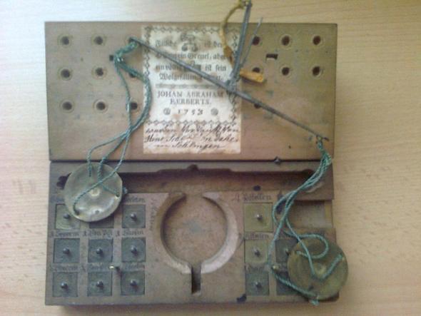 waage - (Muenzen, Antik, Numismatik)