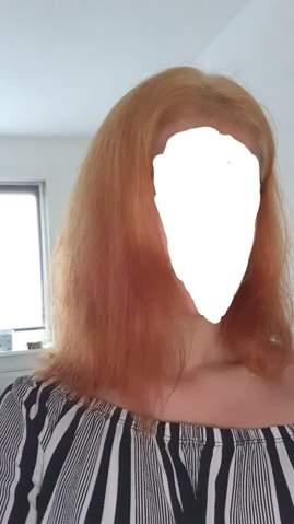 Müssen die Haare gleichmäßig blondiert sein, um die tönen zu können?