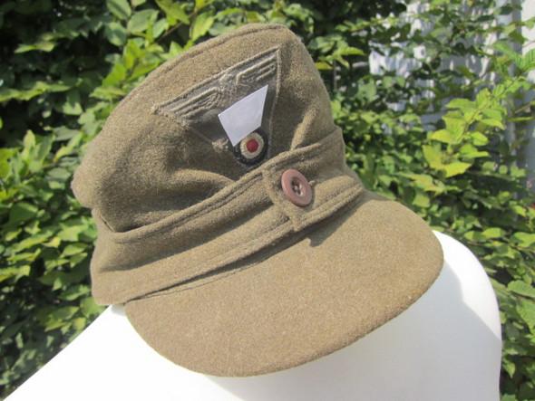 Mütze vom Dachboden - Wehrmacht? Wo kann ich sie verkaufen?