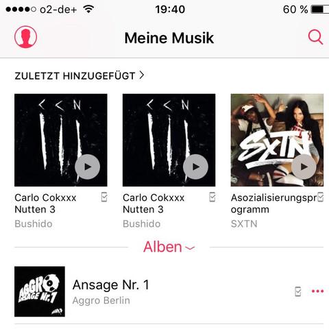 Musik - (Handy, iPhone, Apple)