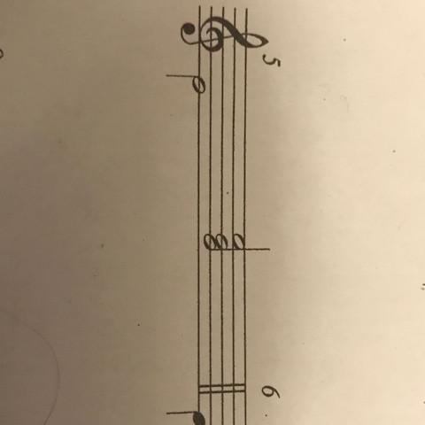 1 Begleitmuster  - (Musik, d-moll, Begleitmuster)