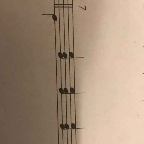3 Begleitmuster - (Musik, d-moll, Begleitmuster)