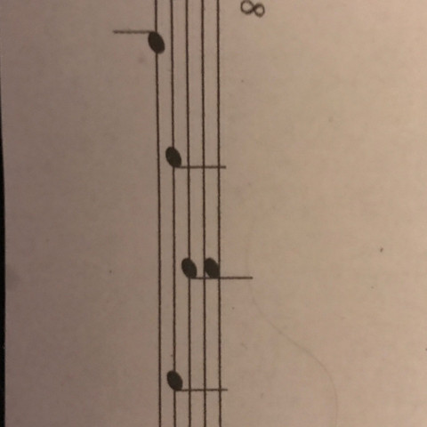 4 Begleitmuster - (Musik, d-moll, Begleitmuster)