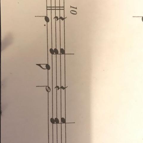 6 Begleitmuster   - (Musik, d-moll, Begleitmuster)