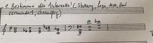 Musiktheorie Intervalle bestimmen?
