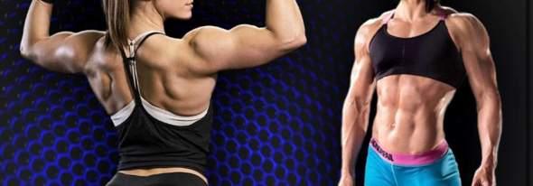 Muskelaufbau bei Frauen Atraktiv?