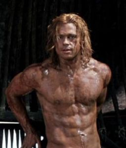 Muskelaufbau wie Brad Pitt in troja? (Körper, Training)