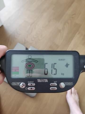 Muskelmasse in kg?