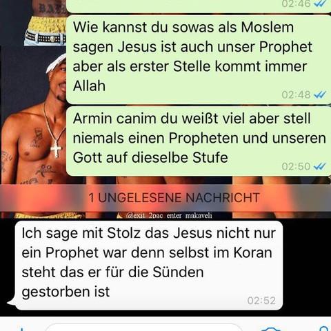 2 Bild  - (Religion, Islam, Christentum)