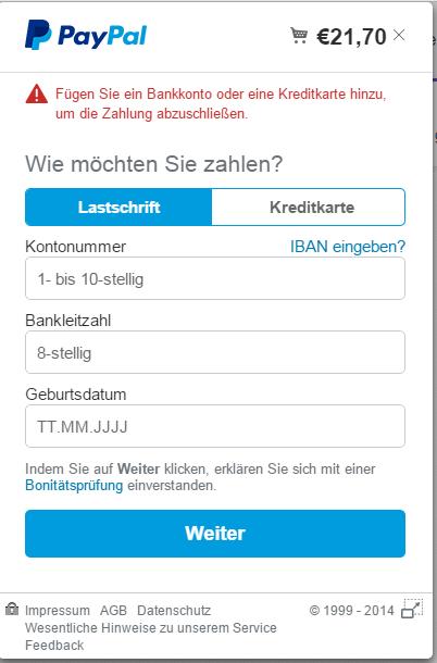 Paypal Guthaben Auf Kreditkarte Гјberweisen