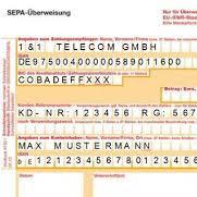 Sepa j - (Bank, Berlin, Überweisung)