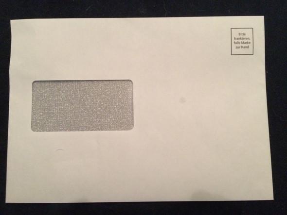 Muss Ich Diesen Brief Frankieren Post Krankenkasse