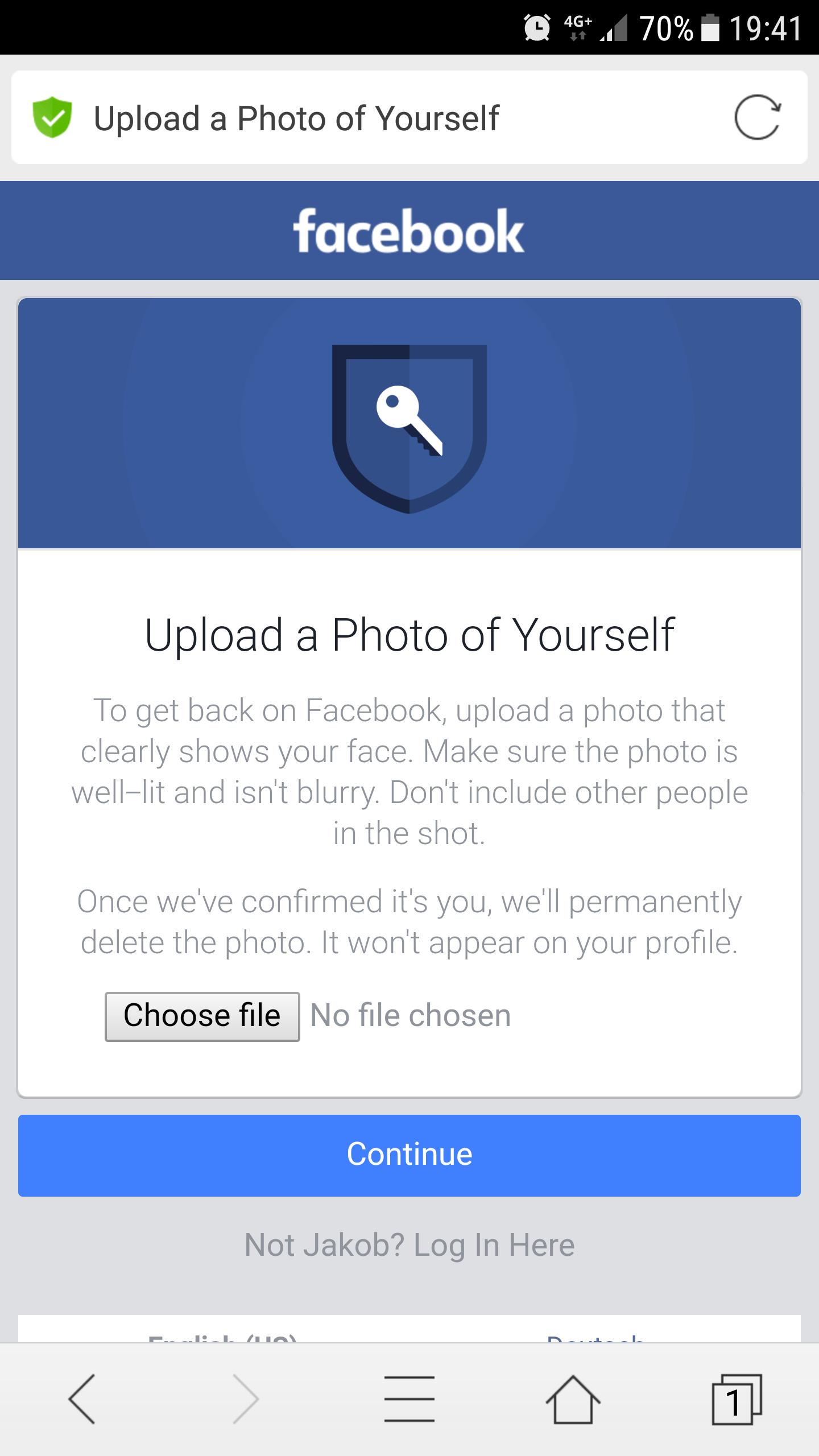 Muss ich ein Profilbild von mir selbst bei Facebook
