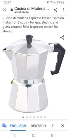 Muss man die espressomaschine unbedingt auf herd nutzen?