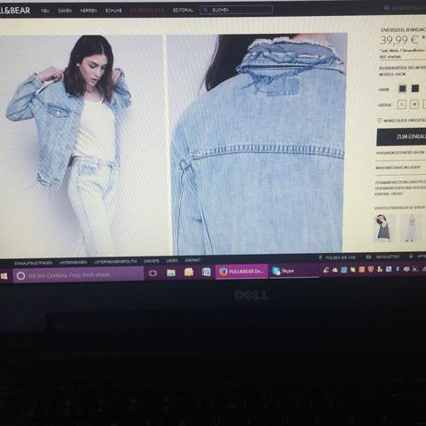 Muss man oversized Jeansjacken größer kaufen?